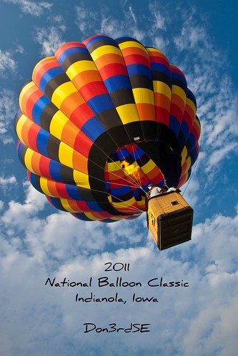 2011 National Balloon Classic ~EXPLORE 7/30/2011 by Don3rdSE