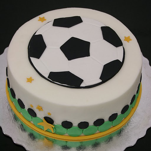 Images Of Soccer Cake : Simple Soccer Cake Flickr - Photo Sharing!