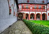 another view inside the interior courtyard of