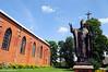 Narač | 1. Church of St. Andrew. Pope John Paul II