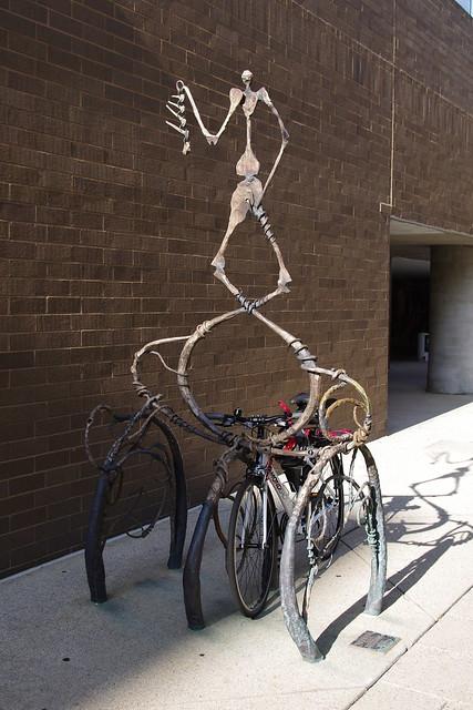 Art bike rack