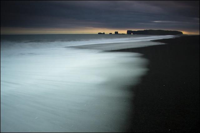 Black beach, Dyrholaey, Iceland