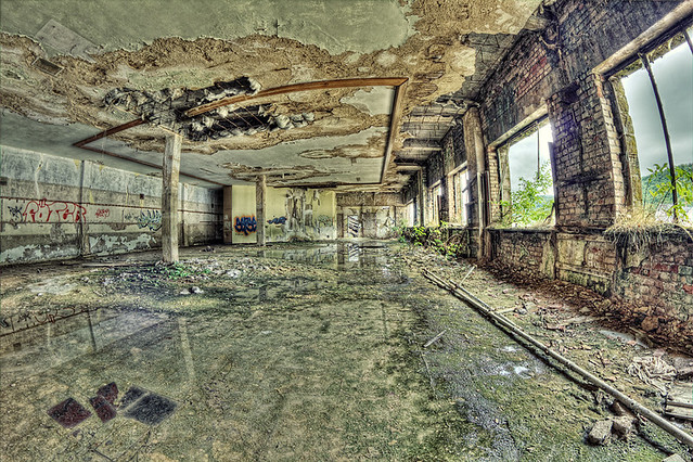 Wasted Factory HDR