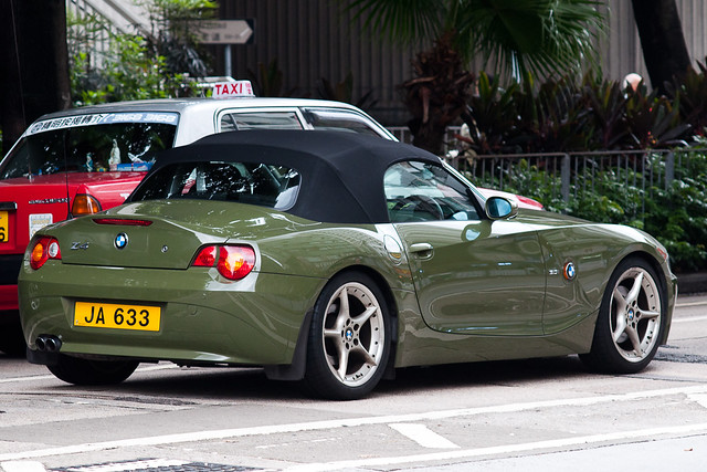 Bmw Z4 E85 Urban Green Ja 633 Flickr Photo Sharing