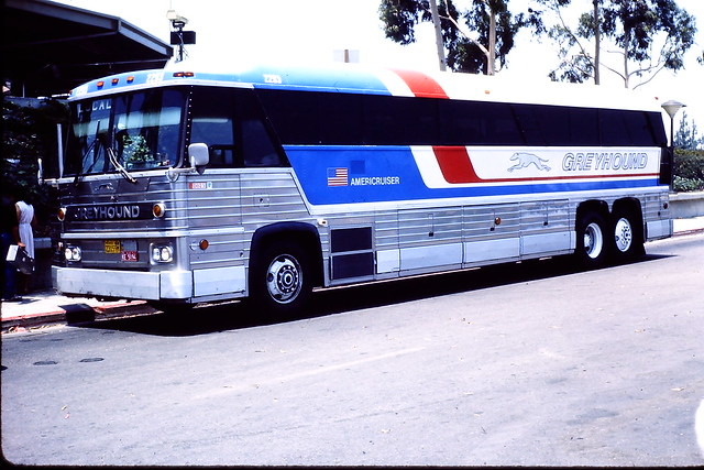 Greyhound bus 2293 (MCI MC-8) | Flickr - Photo Sharing!