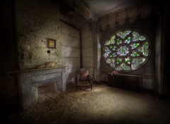 abandoned Manor house sr
