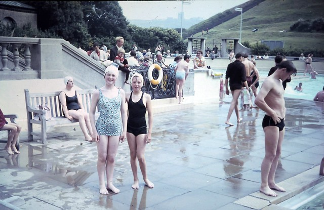 Scarborough Outdoor Swimming Pool 1960 39 S Scanned Slide Flickr Photo Sharing