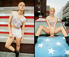 "Nejilka Arias photographed by Ryan Christopher VanWilliams in ""Americana"" for 180 Magazine (Canada) - October 2011 by Ryan Christopher VanWilliams - NYC"