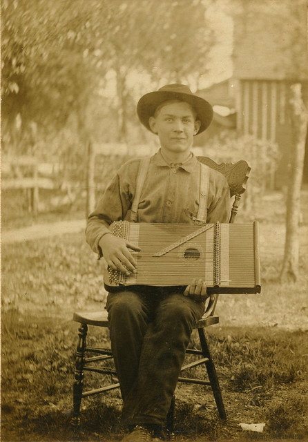 Dulcimer player, date unknown