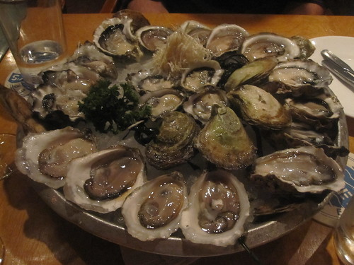First round of oyster's at Rodney's