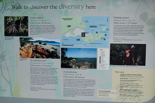 Cape Hillsborough National Park - map of walking tracks