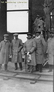 Visit of King Amanullah of Afghanistan to Bradford Colliery, Manchester, 1928