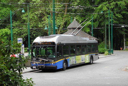 Electric Bus - Stanley Park