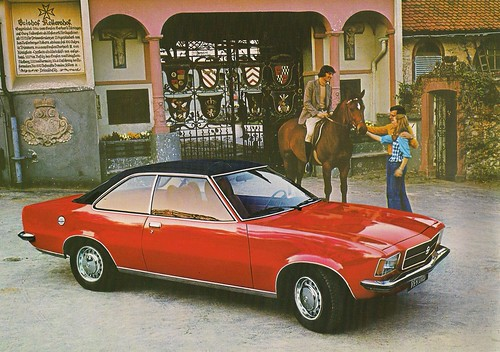 1977 Opel Rekord Coupe