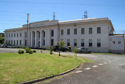 Yallourn Production Centre, the old SECV offices beside the Yallourn Power Station