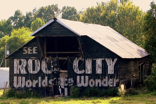 See Rock City - World's 8th Wonder