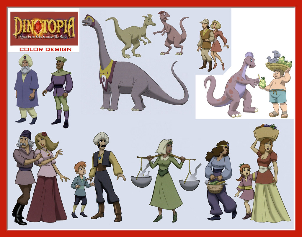 dinotopia coloring pages - photo#3
