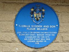 Photo of Thomas Sugden blue plaque