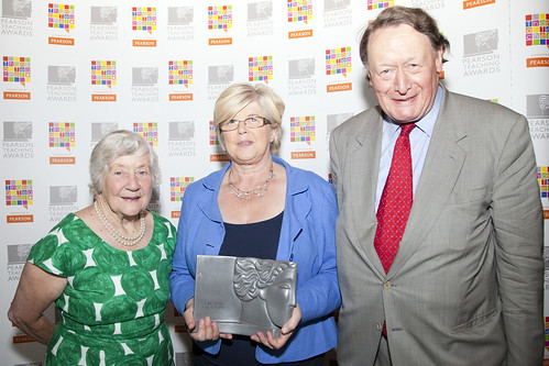 Sue Reeve with Baroness Shirley Williams and John Stanley MP
