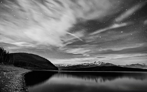 blue mountain lake mountains reflection nature night landscape rockies evening nikon bravo colorado rocky reservoir astrophotography co summit astronomy rockymountains lakedillon tenmilerange clff dillonreservoir d700