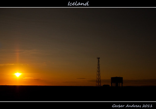 sunset yellow canon landscape island eos gold golden iceland flickr andreas giallo midnight gerber oro islanda 50d