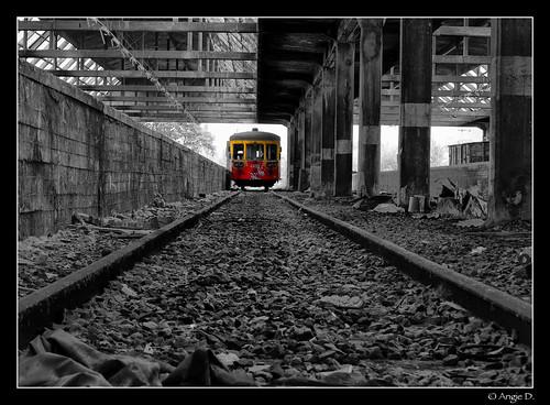 Vorsicht an Bahnsteig 1