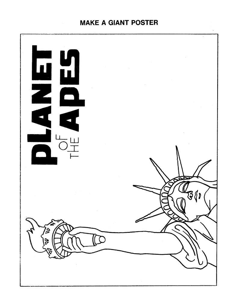 Planet of the Apes Cut & Color Book00033
