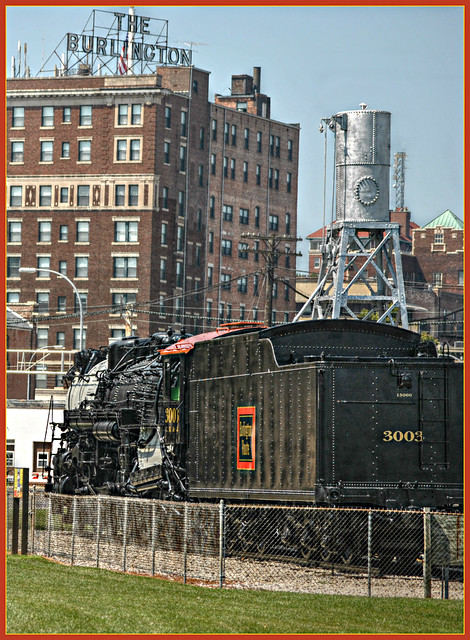 Hudson Class S - 4 Locomotive  Burlington Iowa ( 5 views )