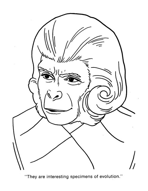 Planet of the Apes Coloring Book 0200028