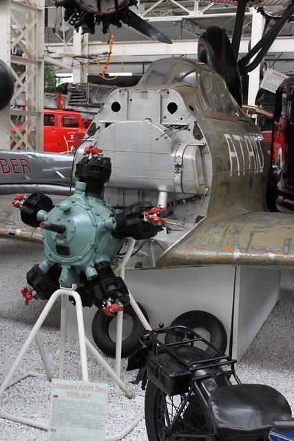 Cockpit: Mitsubishi A6M5 Zero 'ATAIU SEA'