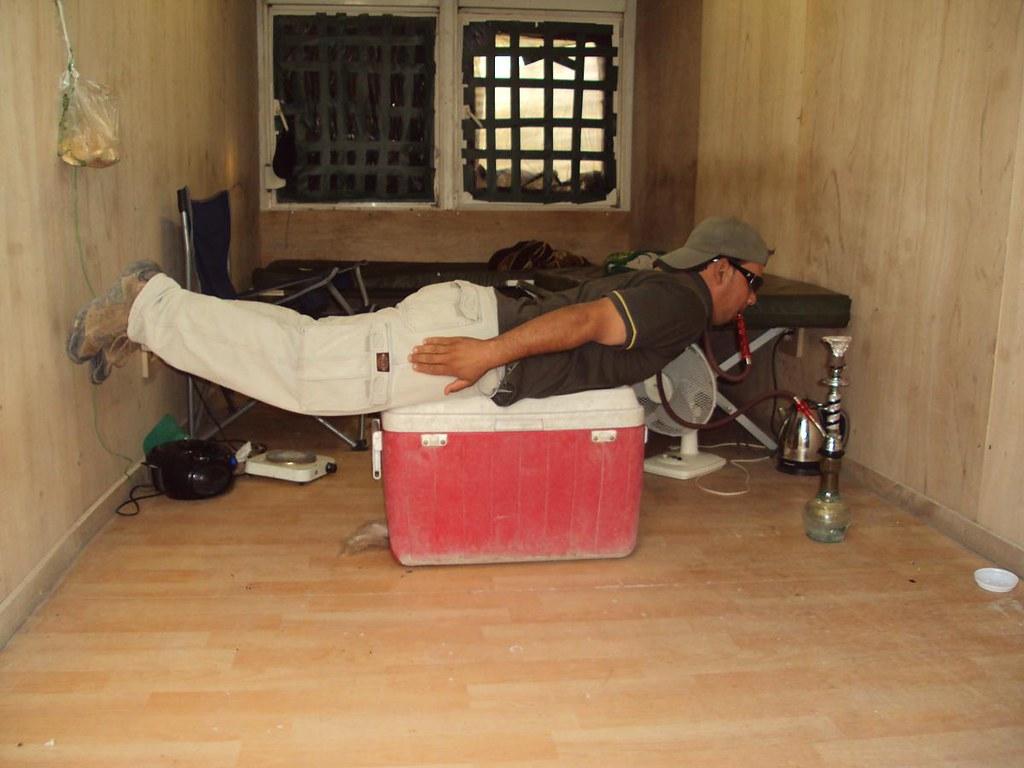 Iraqi cooler planking