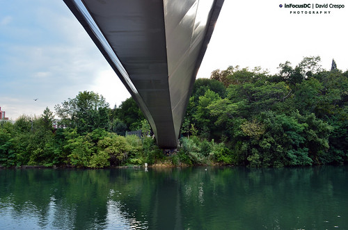 Bridge to the park · Puente hacia el parque