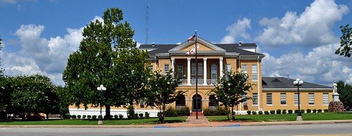 Butler, AL - Choctaw County Courthouse