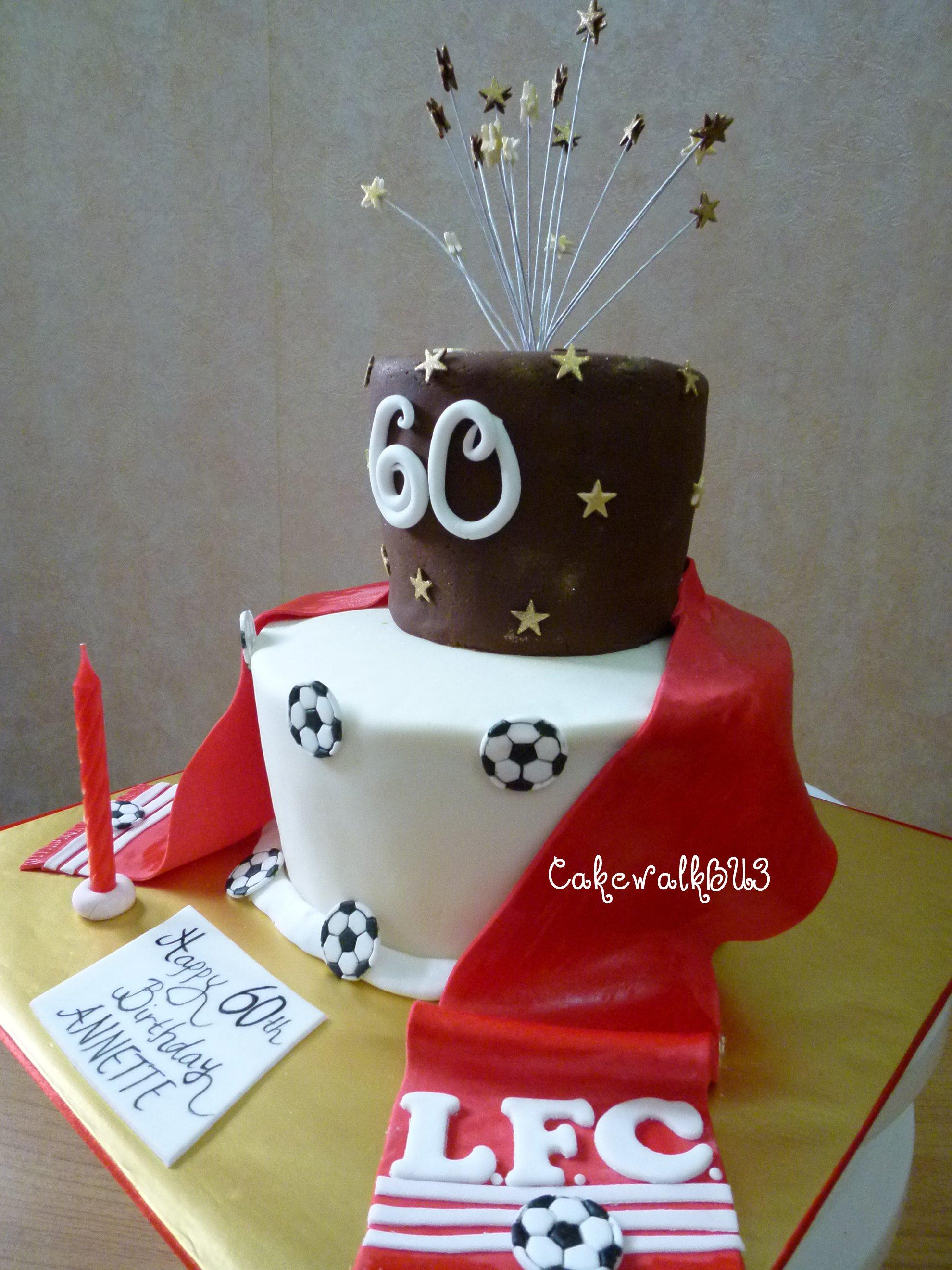 Liverpool Birthday Cake Asda