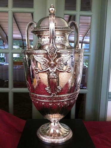 Western Amateur Trophy is pretty! North Shore CC, Glenview, IL.
