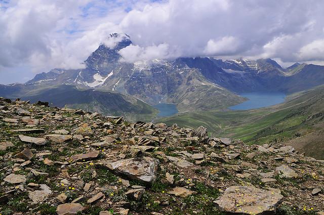Twin Gangbal Lake