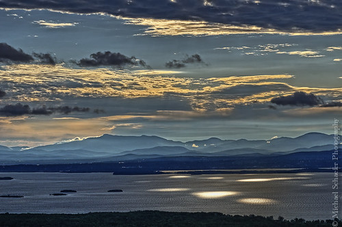 Morning Light over Lake Champlain