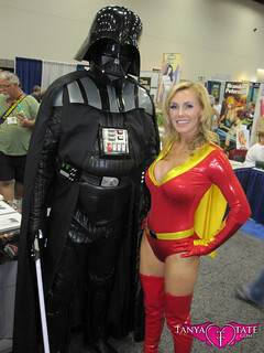 Hot Krofft Cosplay Pic - Tanya Tate As Electra Woman San Diego Comic Con 2011