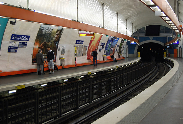 Metro saint michel flickr photo sharing - Saint michel paris metro ...