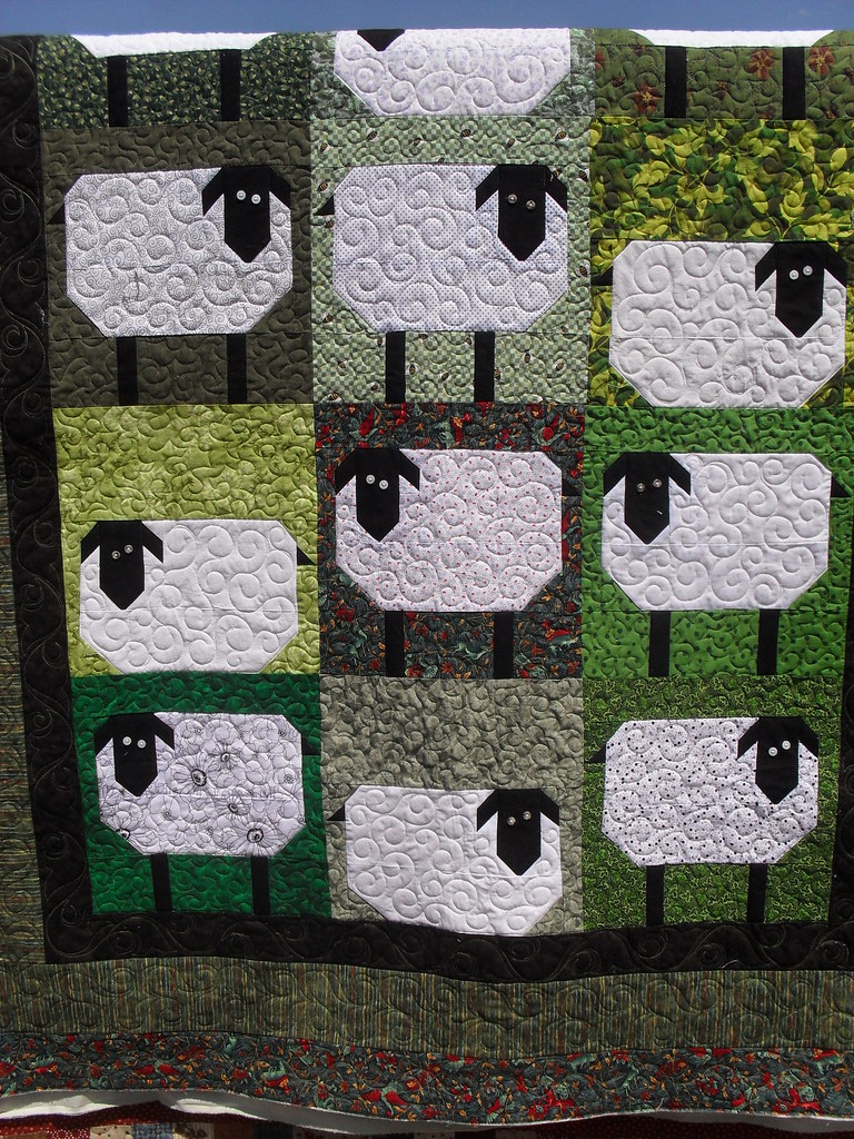 Sheep Pieced By Starla Jones Quilted By Jessica S