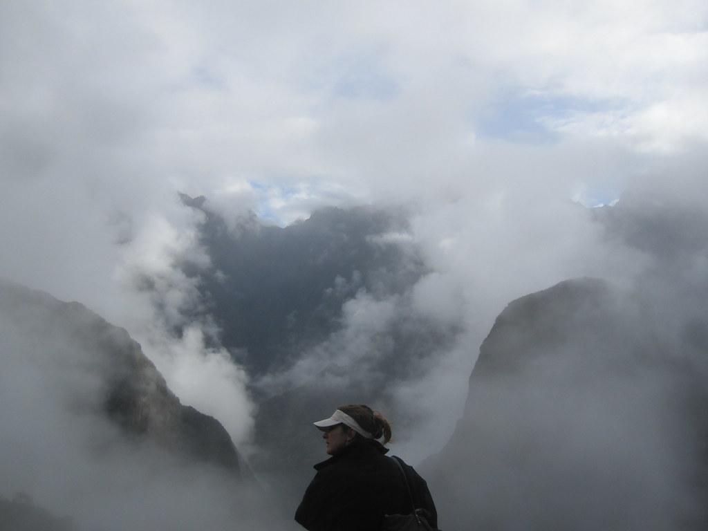 Machu Picchu Peru Clouds