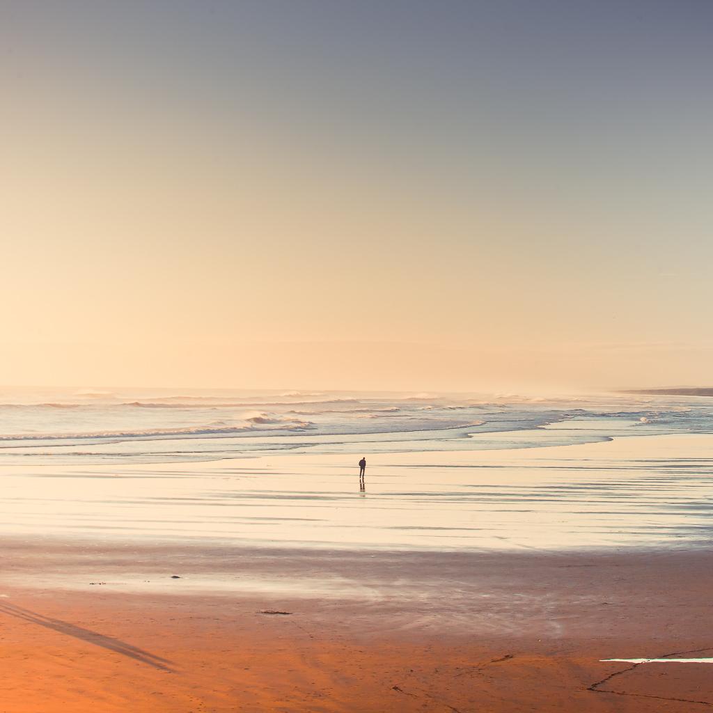 Muriwai пляж