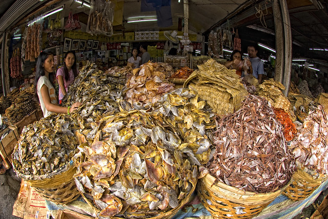 Taboan dried fish market the taboan market in cebu city for Dried fish philippines