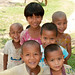 Group of Garo Kids - Srimongal, Bangladesh
