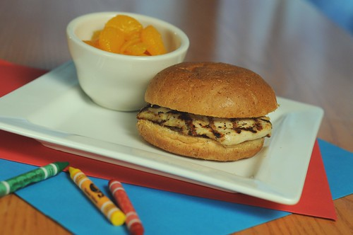 Chili's- Grilled Chicken Sandwich