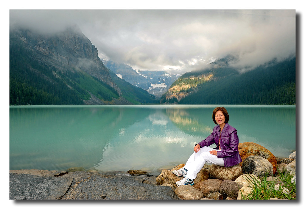 Lake Louise and the Queen (Ti?u Su N?).