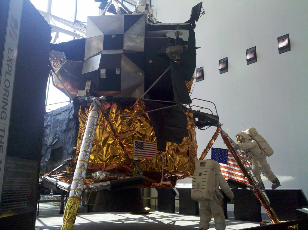 Apollo at NASM: Model of Tranquility Base