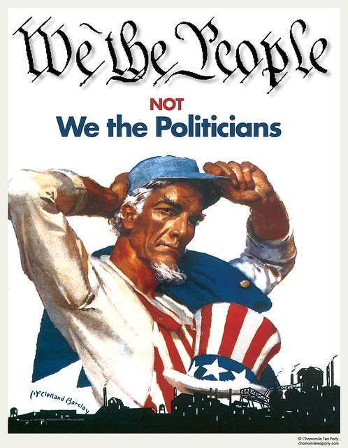 We the People, Not We the Politicians