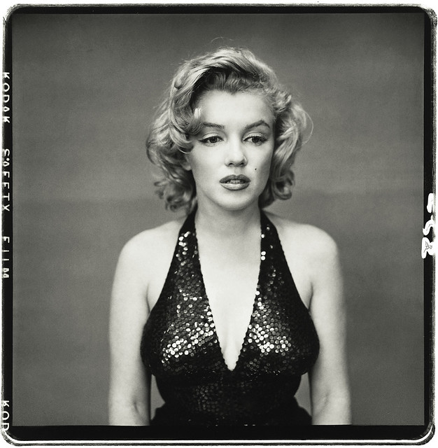 Marilyn Monroe, New York, 1957, by Richard Avedon