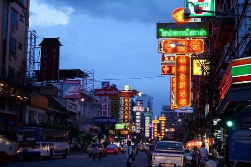 [タイ] バンコクの中華街、ファランポーン駅で降りる。